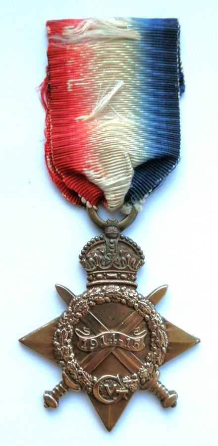 1914-15 Star. Pte. Leonard C. Vivian. 6th Wiltshire Regiment. S.W.B
