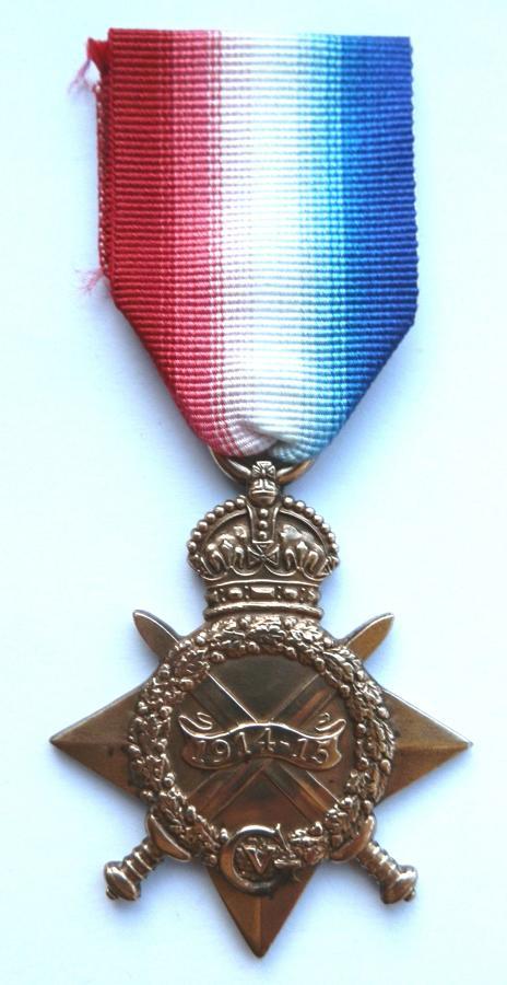 1914-15 Star. Private Albert V. Mobbs 1st Bn Highland Light Inf. DIED