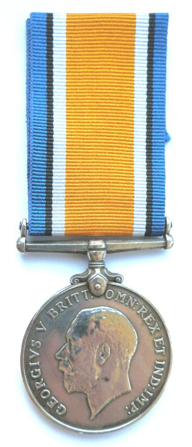 British War Medal. 793 Rfmn. Maung Pein. 1-70th Burma Rifles.