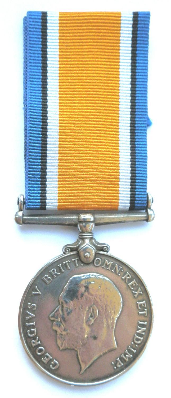 British War Medal. 793 Rfmn. Maung Pein. 1-70th Burma Rifles.