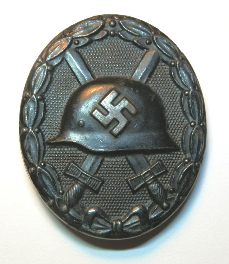 German Black Wound Badge