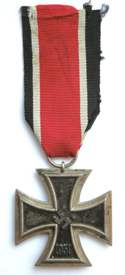 Third Reich Iron Cross, 2nd Class. Makers Marked No. 25