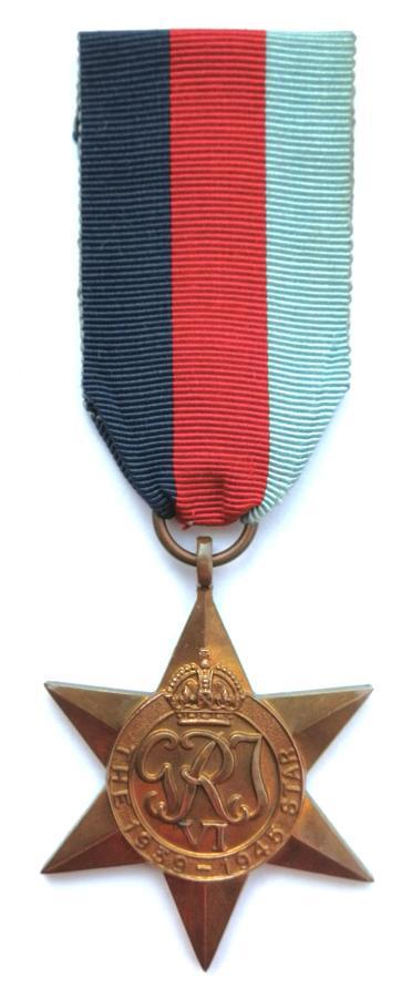 1939-45, Campaign Star
