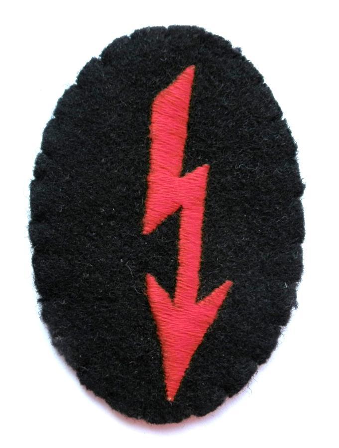 Wehrmacht Artillery Signals Trade Badge.