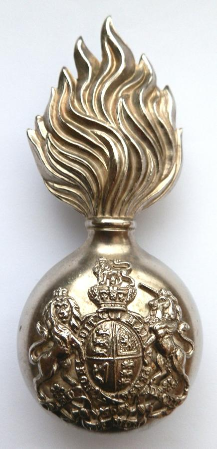 Royal Scots Fusiliers Busby Badge.