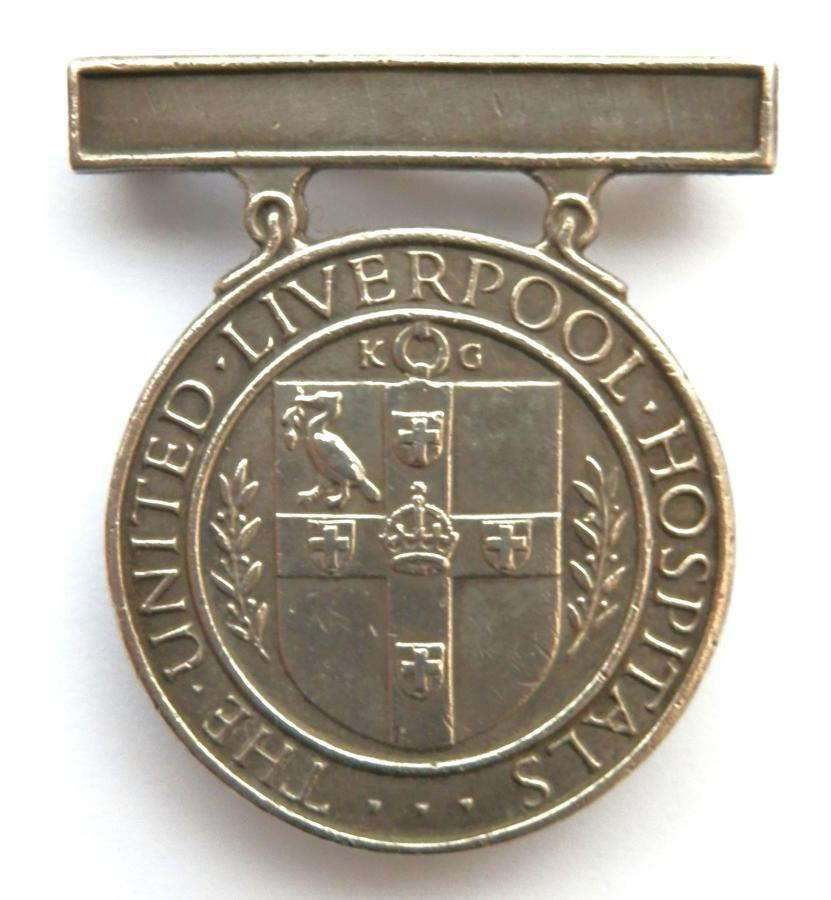 The United Liverpool Hospital, Nursing Badge.