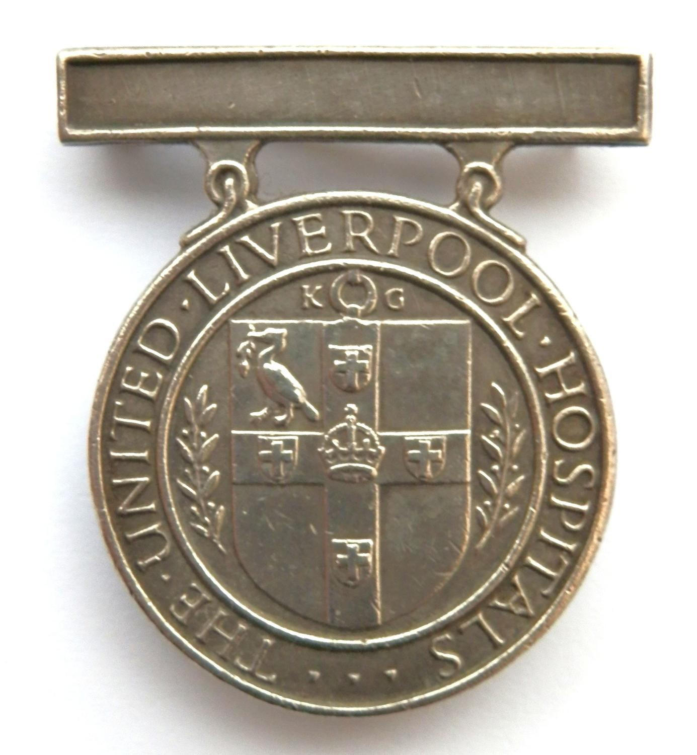 The United Liverpool Hospital, Nursing Badge.