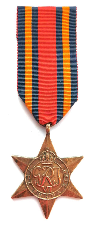 Burma Star. Sepoy M. Singh. Jat. Regiment