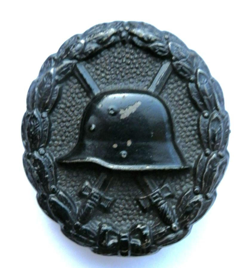 Imperial German WWI Black Wound Badge