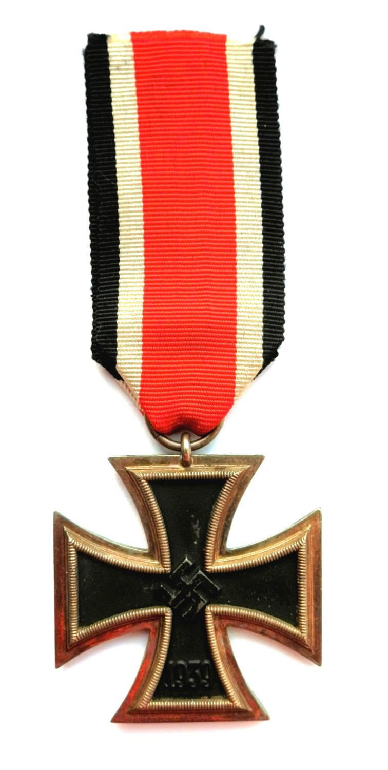 Third Reich Iron Cross, 2nd Class. Non maker marked.