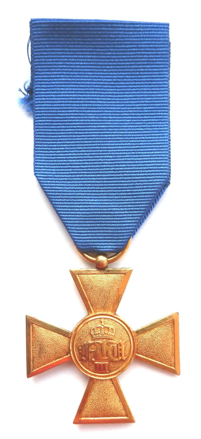 Imperial German 25 Years Army Long Service Medal