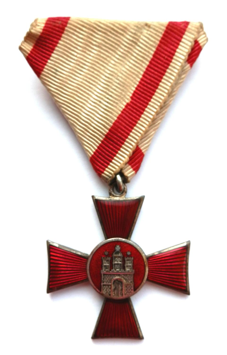 German World War One Hamburg States, Hanseatica Cross