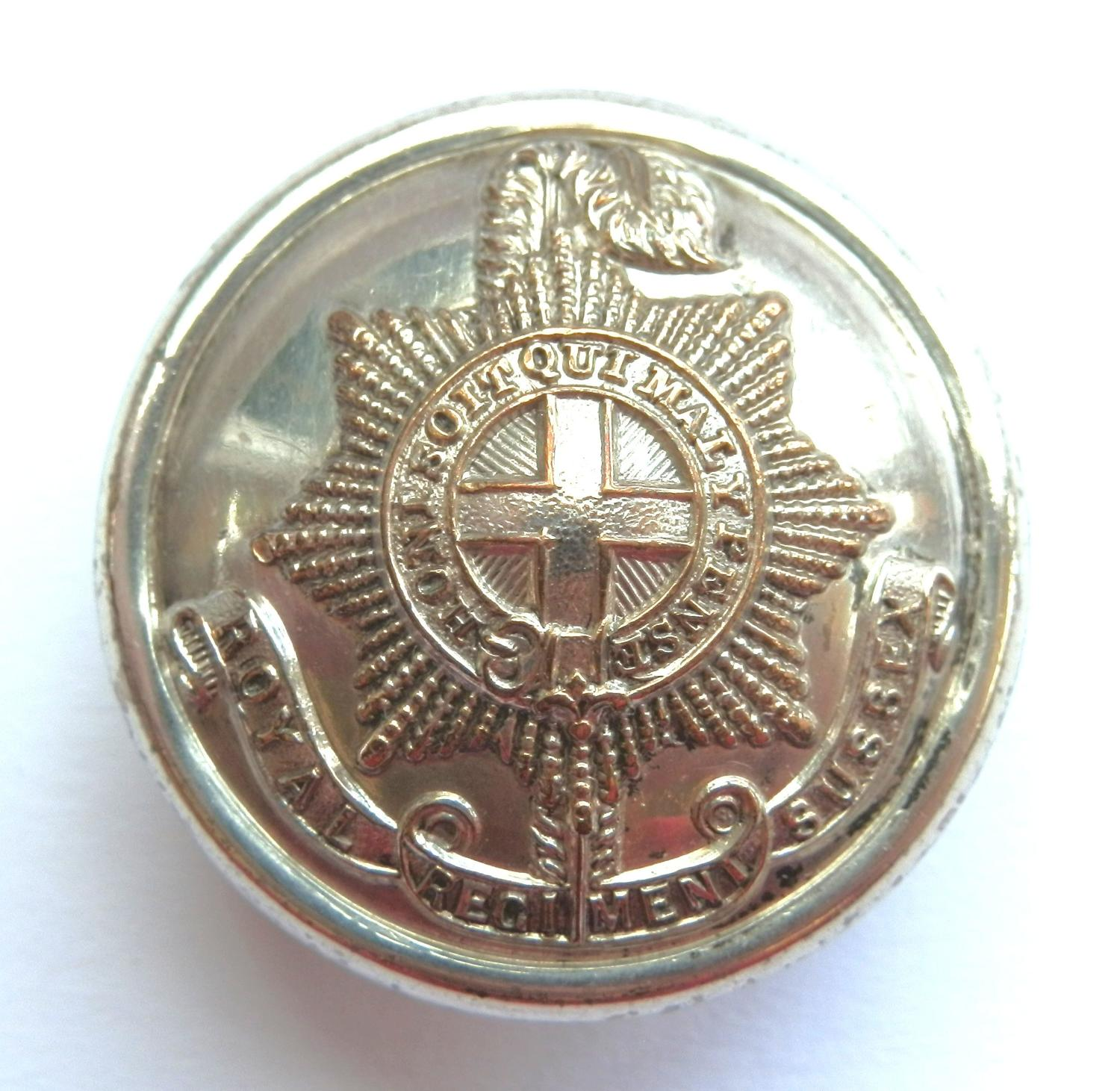 Royal Regiment. Sussex Button