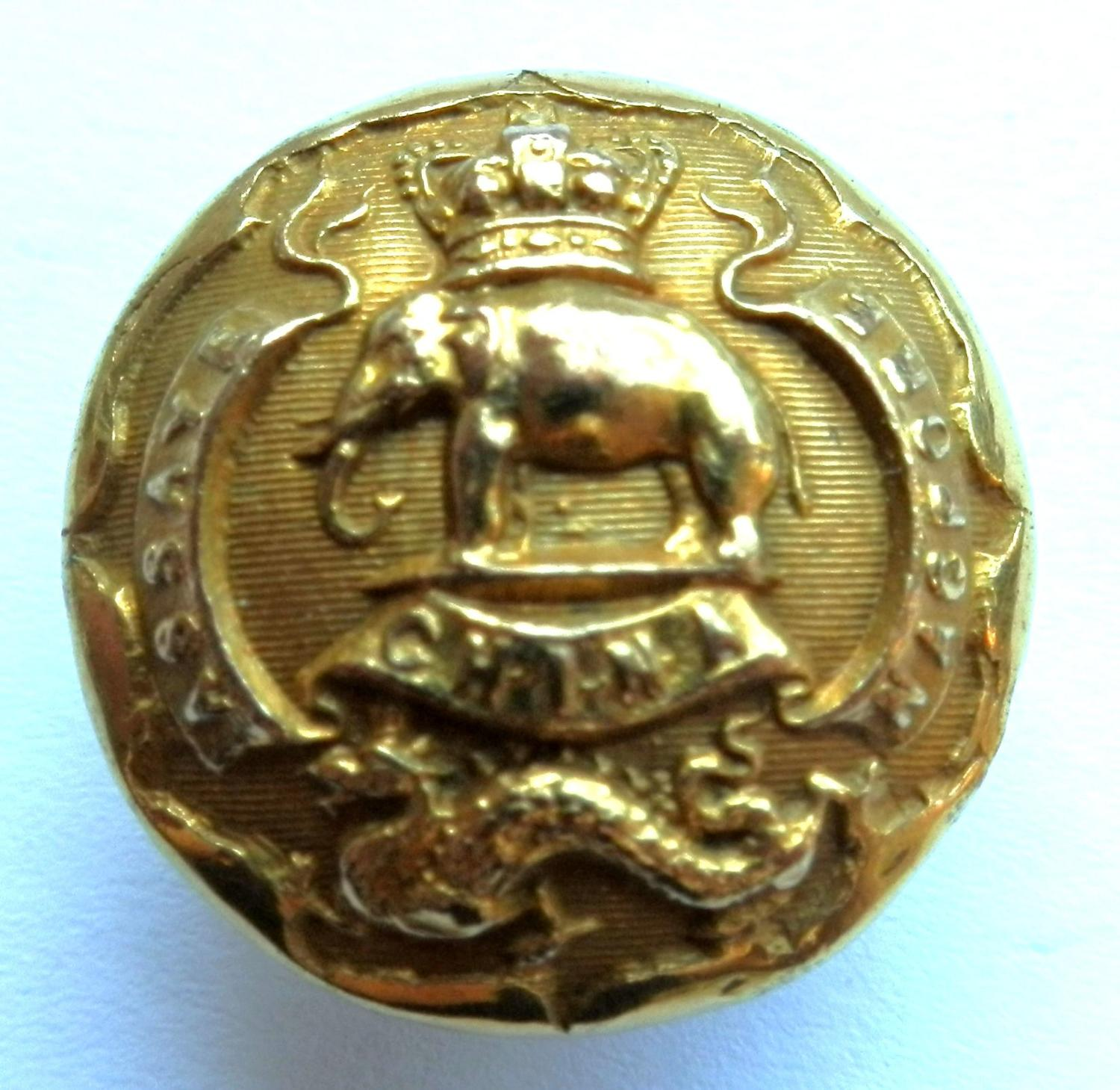 2nd Regt. Madras Infantry Button.