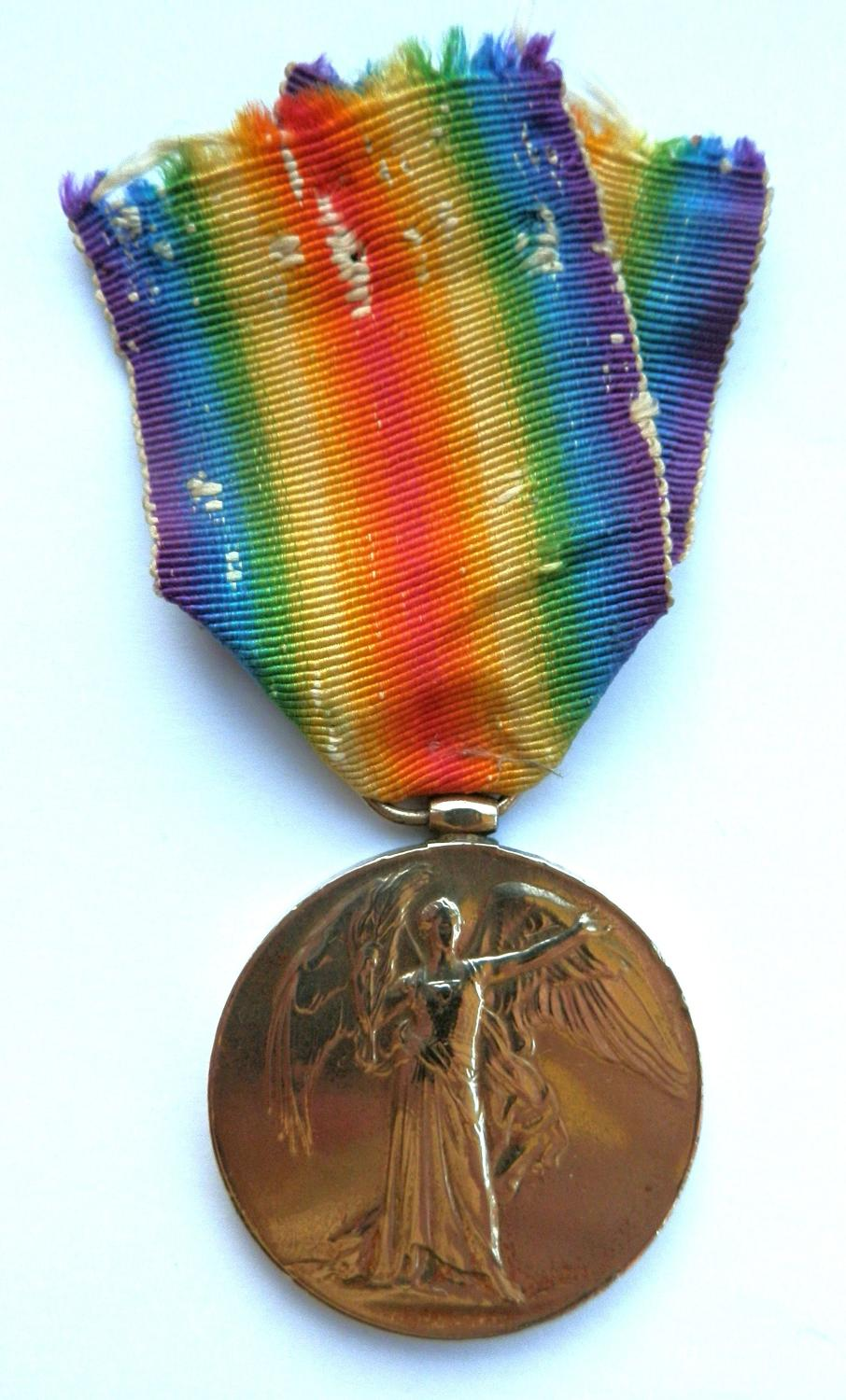 Victory Medal. 3rd A.M. William B. Heigho, R.A.F. & R.N.A.S.