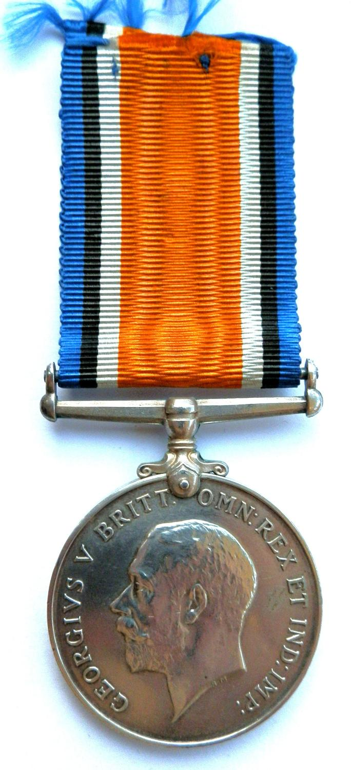 British War Medal. 3 AM Alfred Leonard Goodchild. RAF