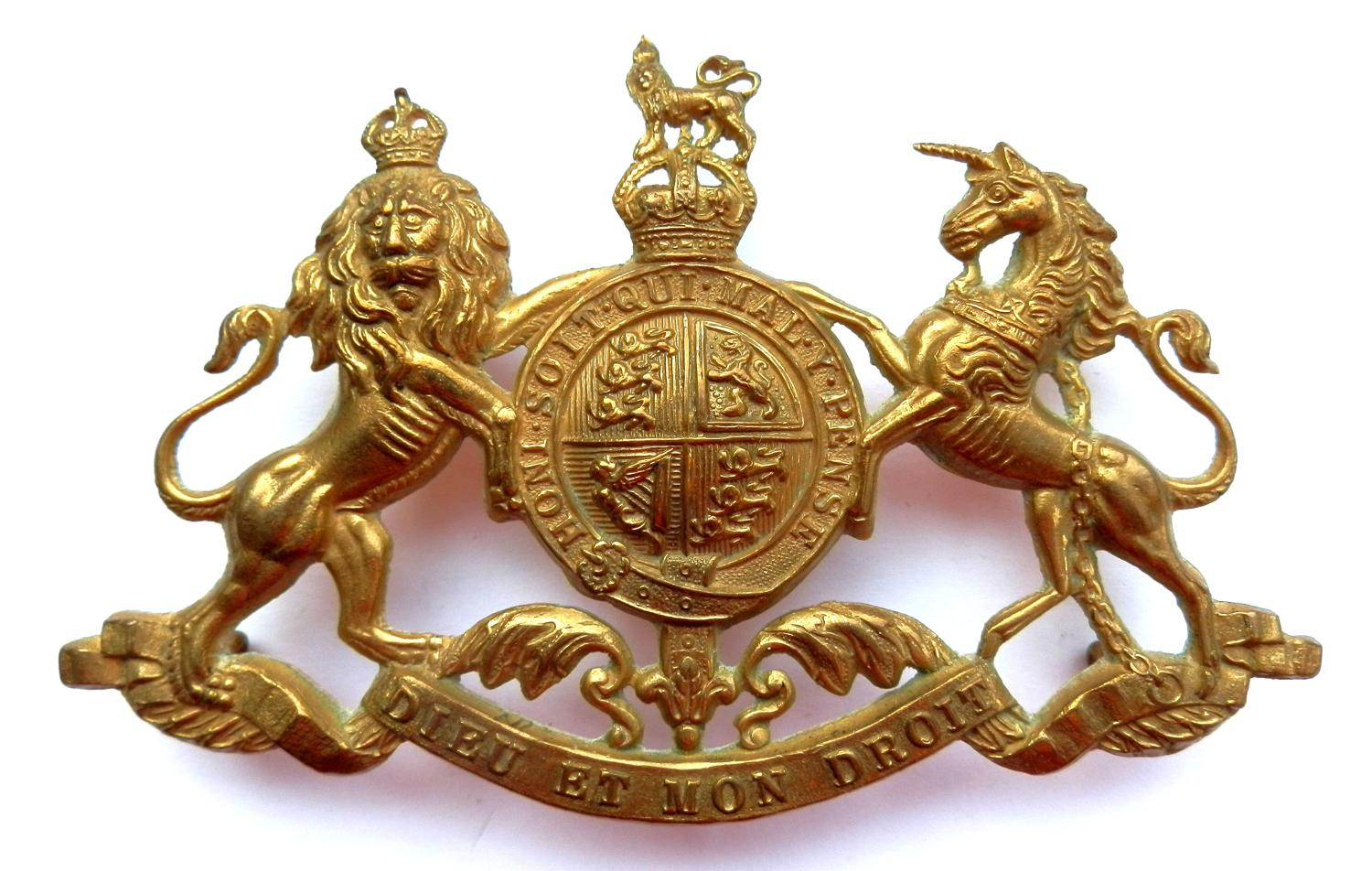 Household Cavalry Officers Pouch Badge.