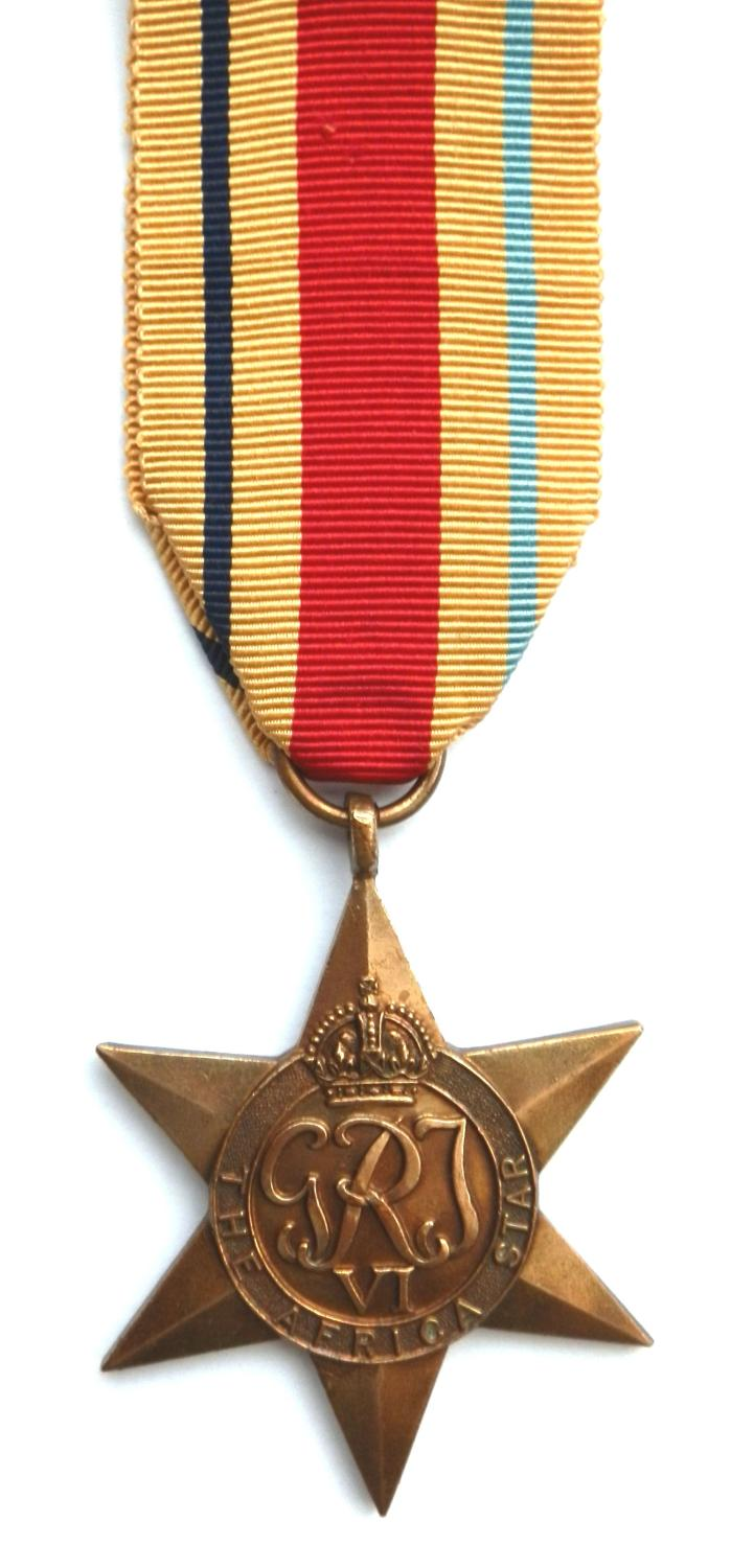 Africa Star, Campaign Africa 1940-43