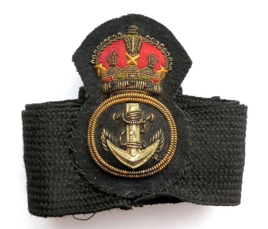 Royal Navy Petty Officers Cap Badge.
