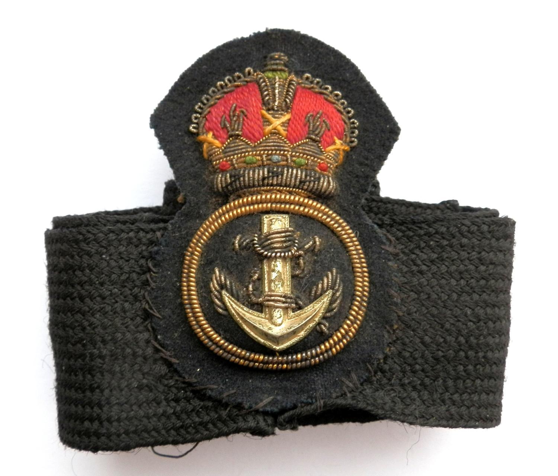 Royal Navy Petty Officers Cap Badge.