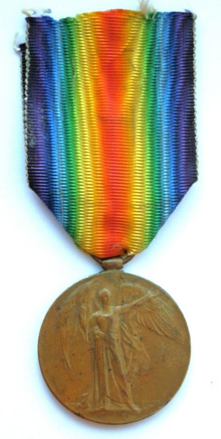 Victory Medal. Pte. Frederick C. French. 12th Royal Scots.
