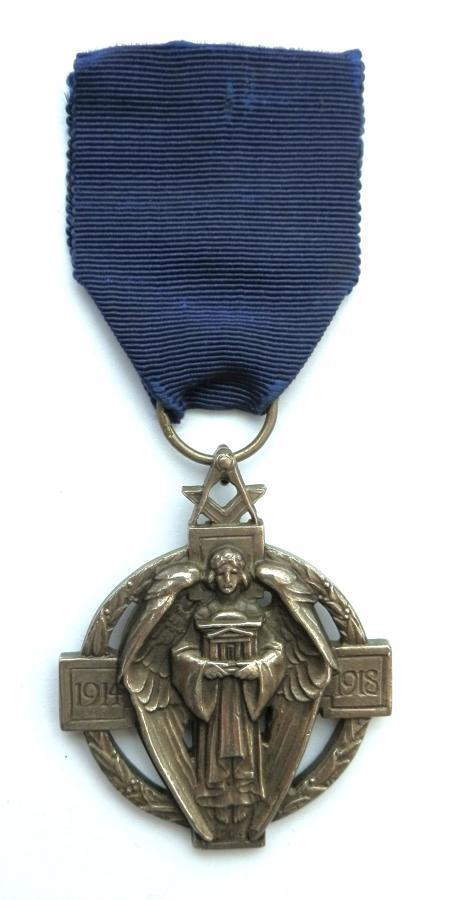 Silver Hallstone Masonic Medal. Bro.G.Lilley No.4987