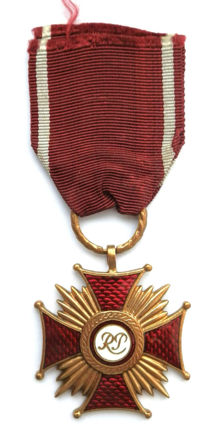 Polish Gold Cross, Medal of Merit.