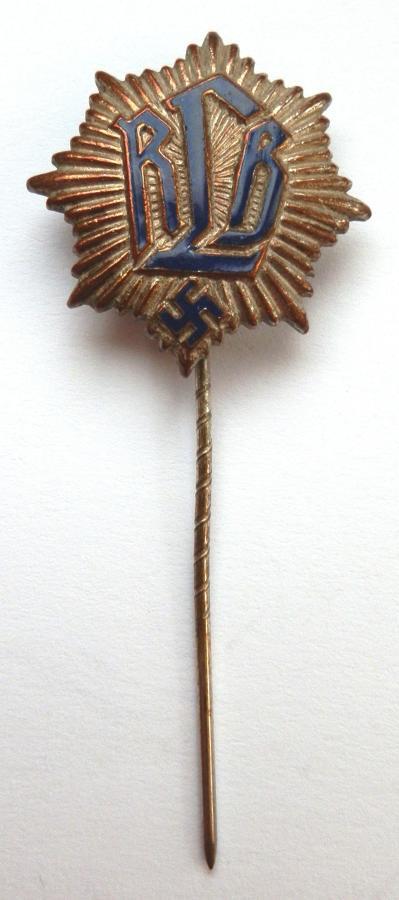 RLB National Air Raid Protection League Pin Badge.