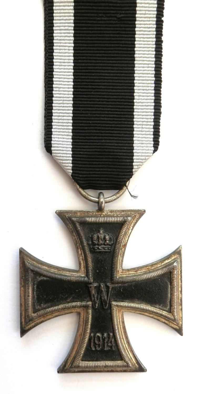 Imperial German Iron Cross 2nd Class. Non maker marked.