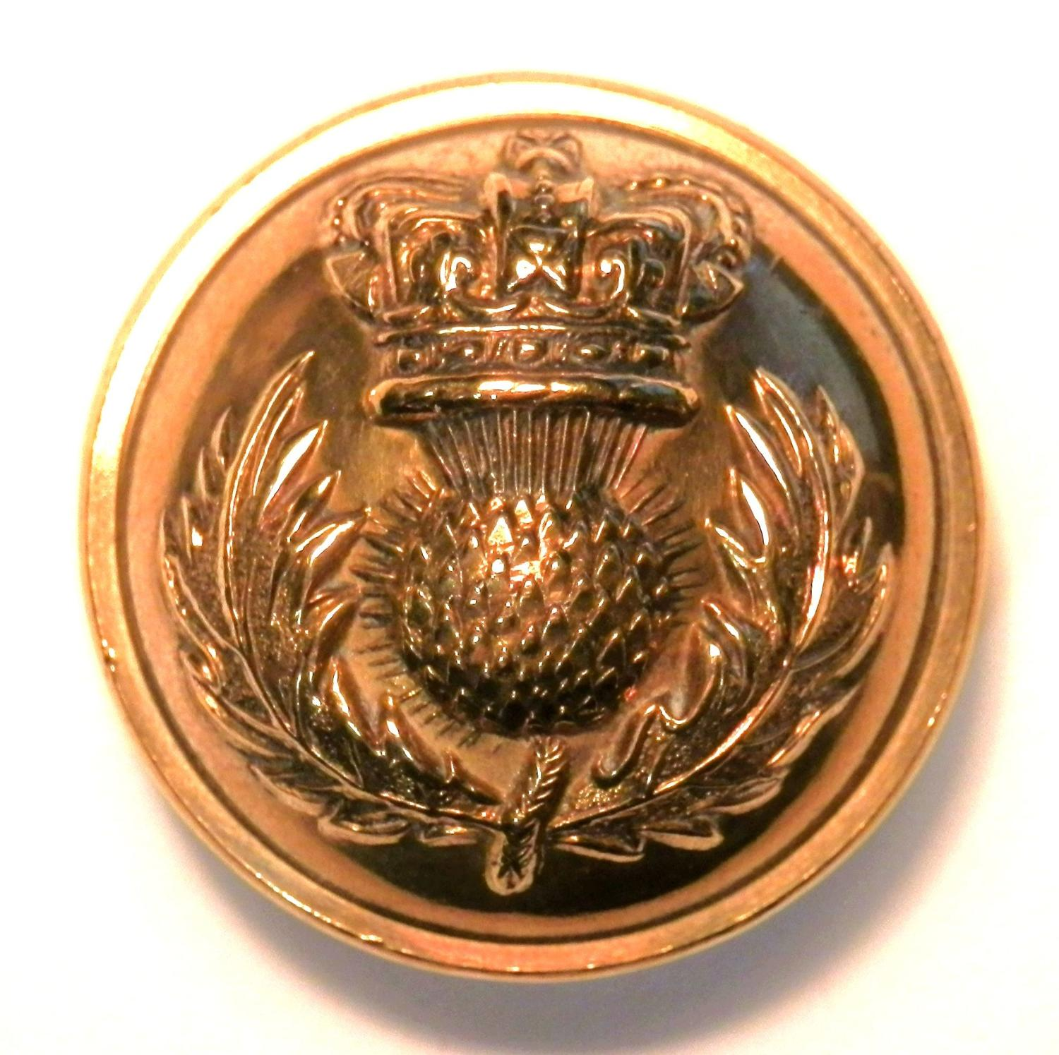 The Royal Scots Fusiliers Button