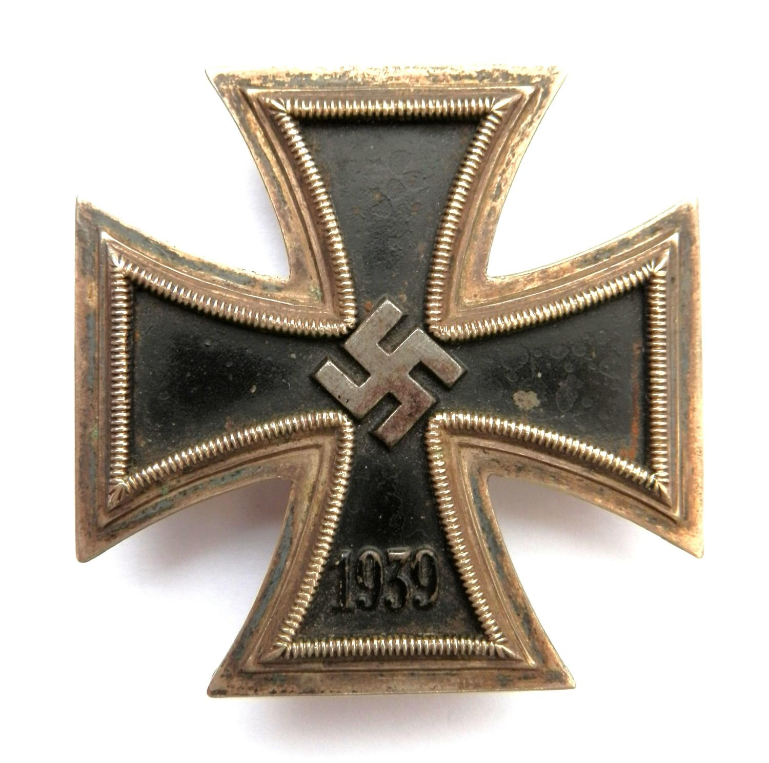 Third Reich Iron Cross, 1st Class. No makers mark.