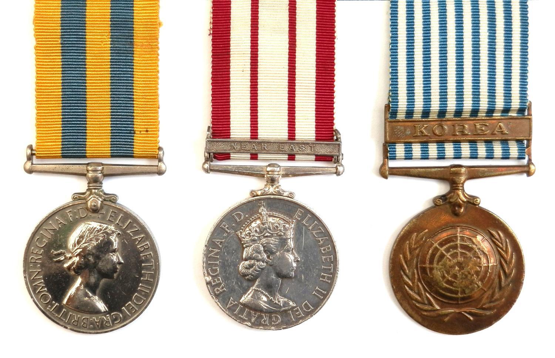 GROUP OF THREE. Telegrathist F. Stephen. Royal Navy.