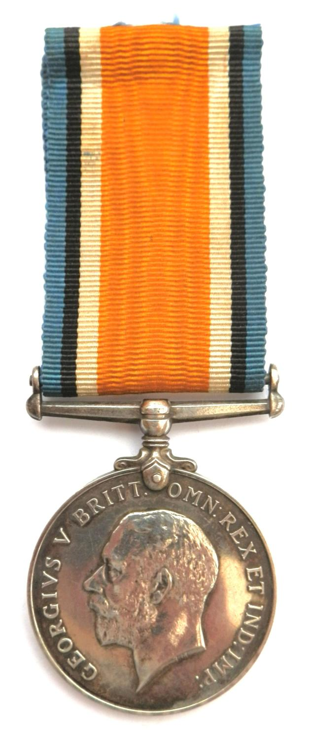 British War Medal. Sgt C. H. Pratt, 6th Bn R. Berks R. Somme Casualty