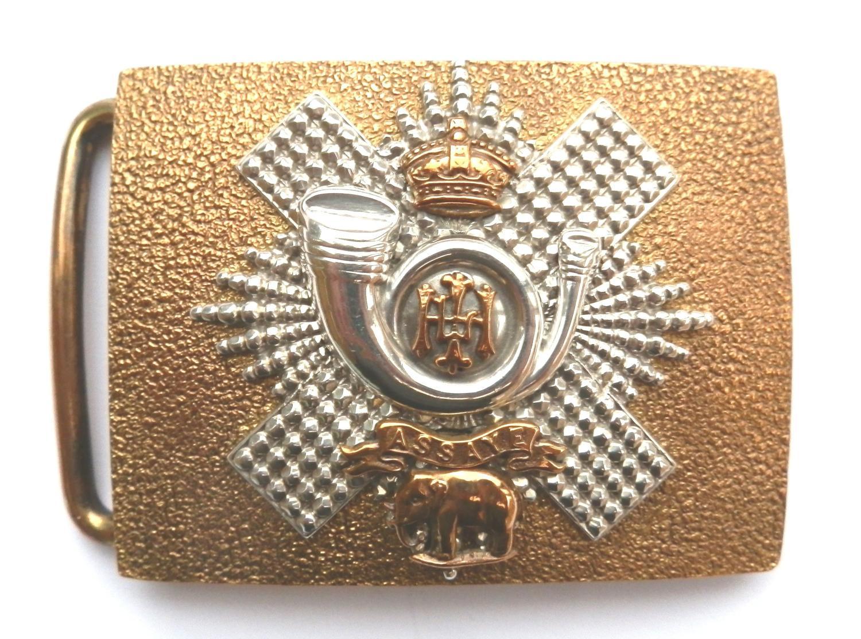 Highland Light Infantry Victorian Officers Scottish Dirk Belt Plate