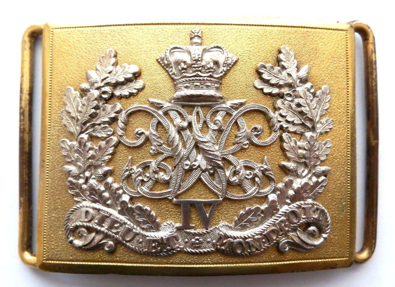 4th Queens Hussars Victorian Waist Belt Clasp