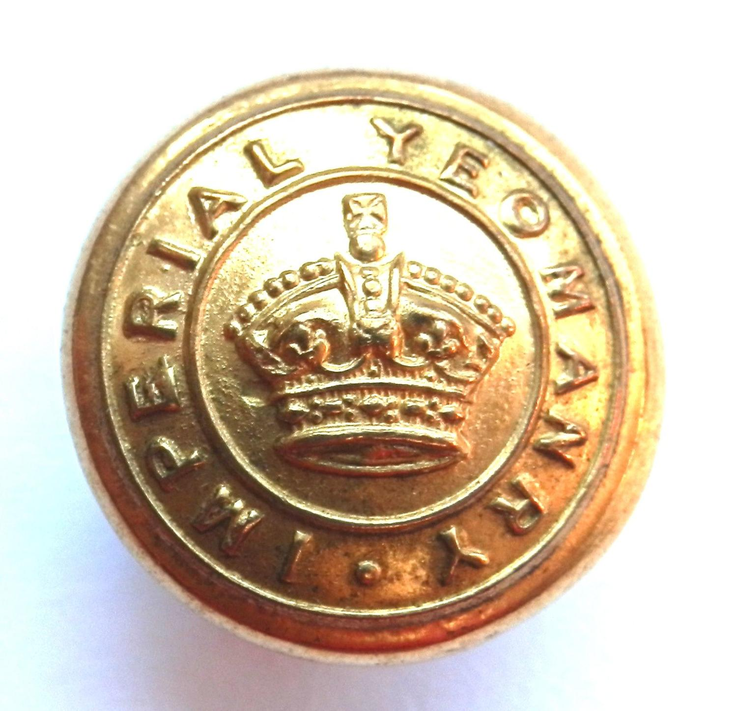 Imperial Yeomanry Button