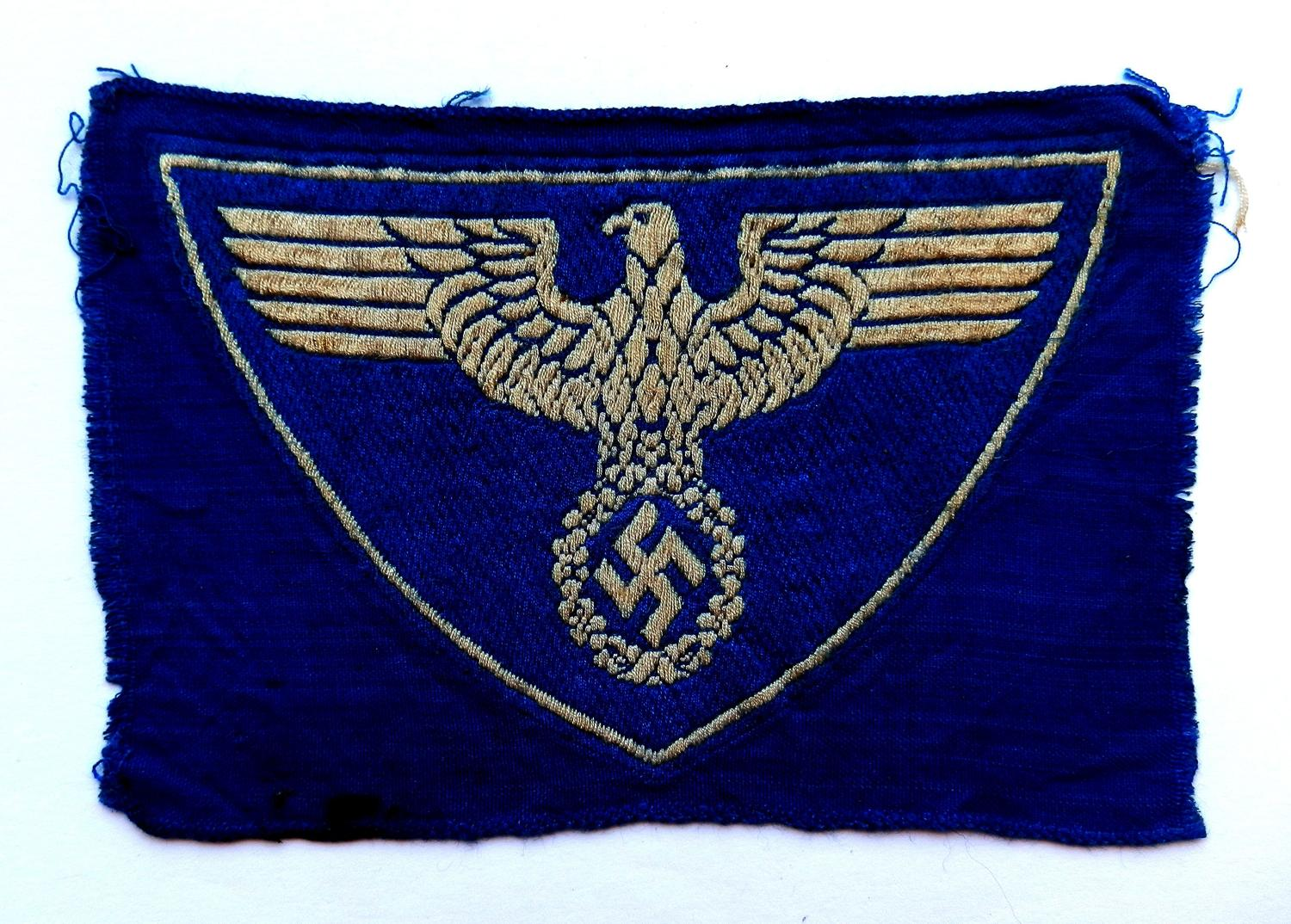 German Postshutz Sports Vest Insignia.