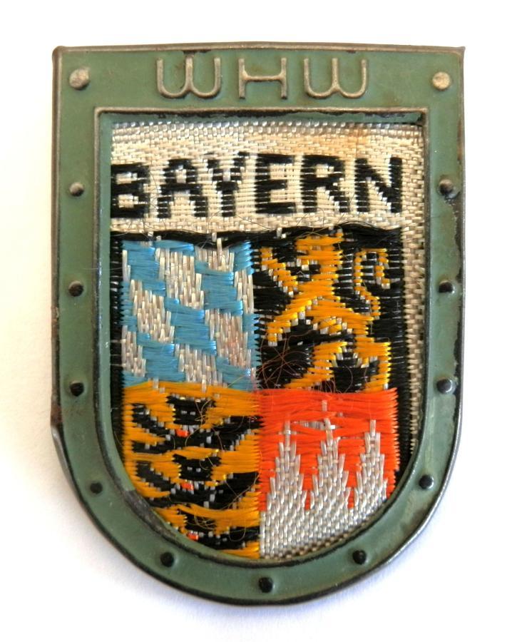 WHW (Winterhilfswerk) Bayern Tinnie.