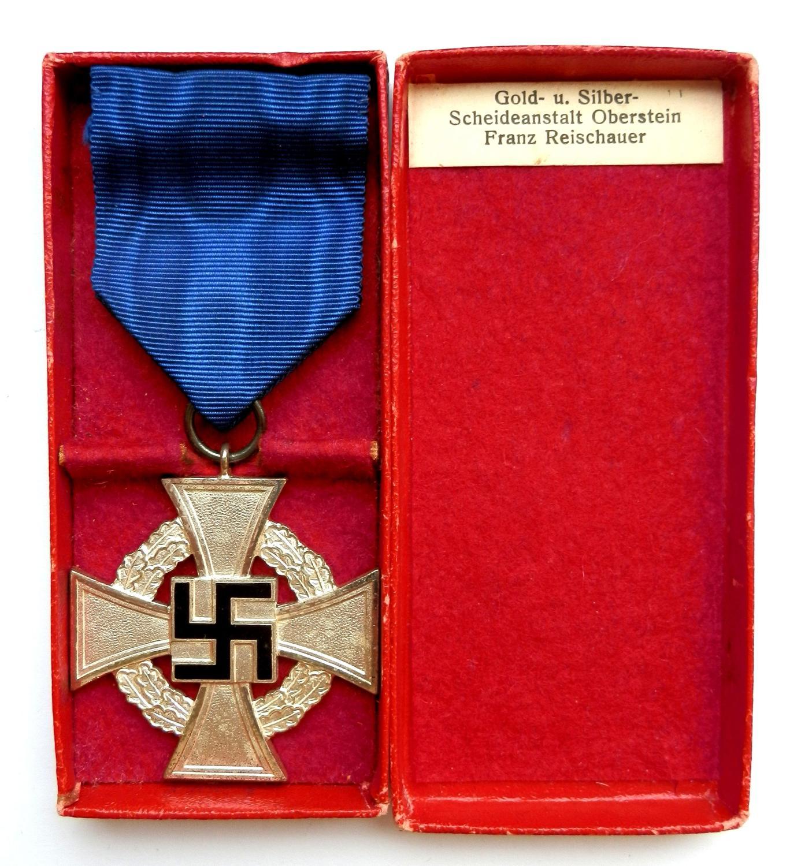 25 Years Faithful Long Service Cross