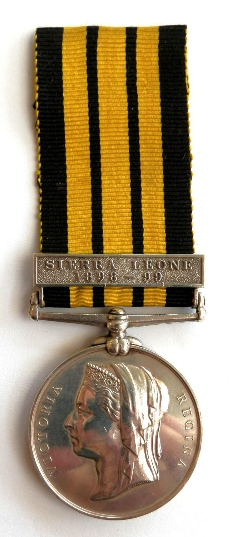 East West Africa. Private J Thomas. Sierra Leone Volunteers.