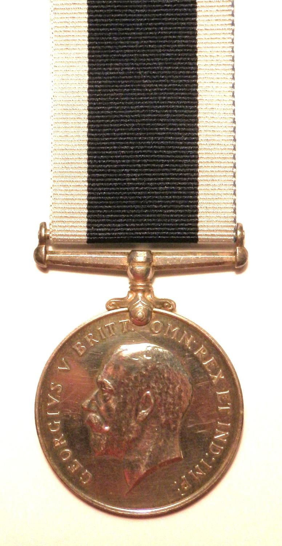 Royal Navy L.S. & G.C. Petty Officer Robert William Holburn. Present a