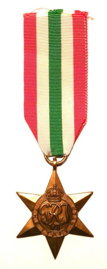 Italy Star, Campaign Italy 1943-45.