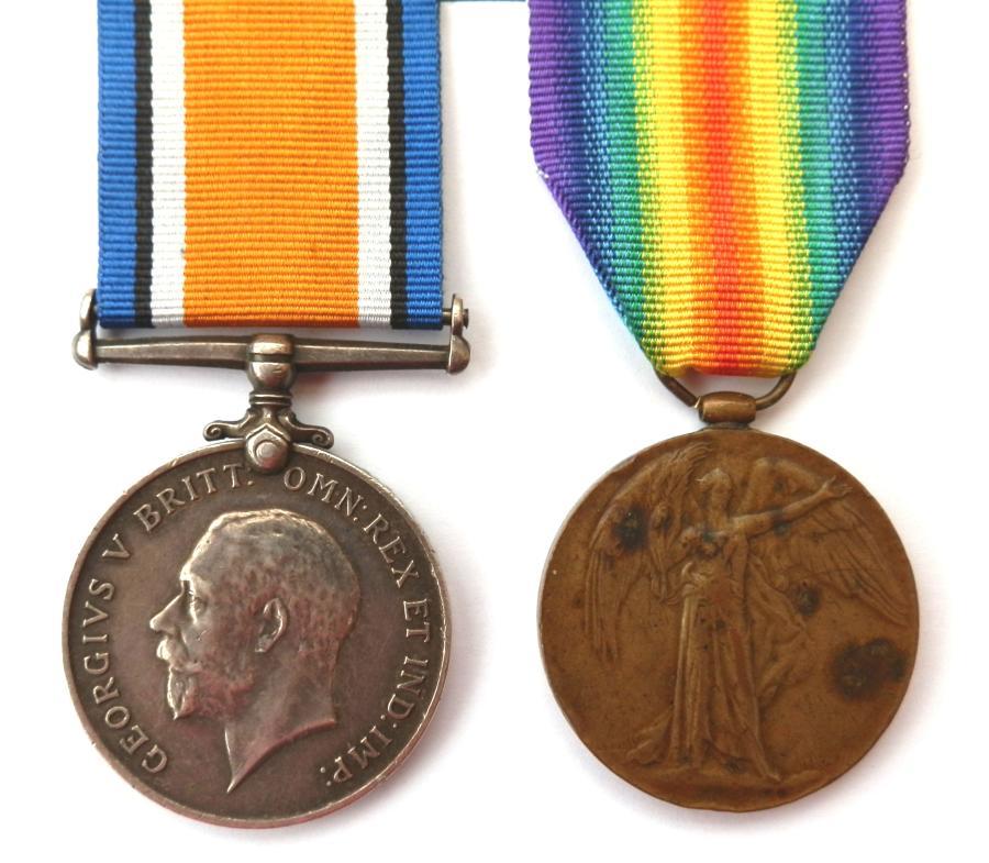 PAIR. Private Alfred Maynard. 3rd London Regiment