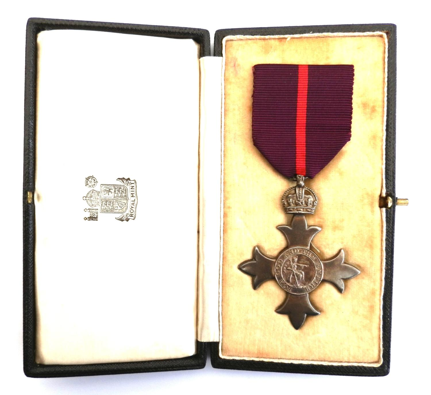 Most Excellent Order of the British Empire (Military) 1st Type.