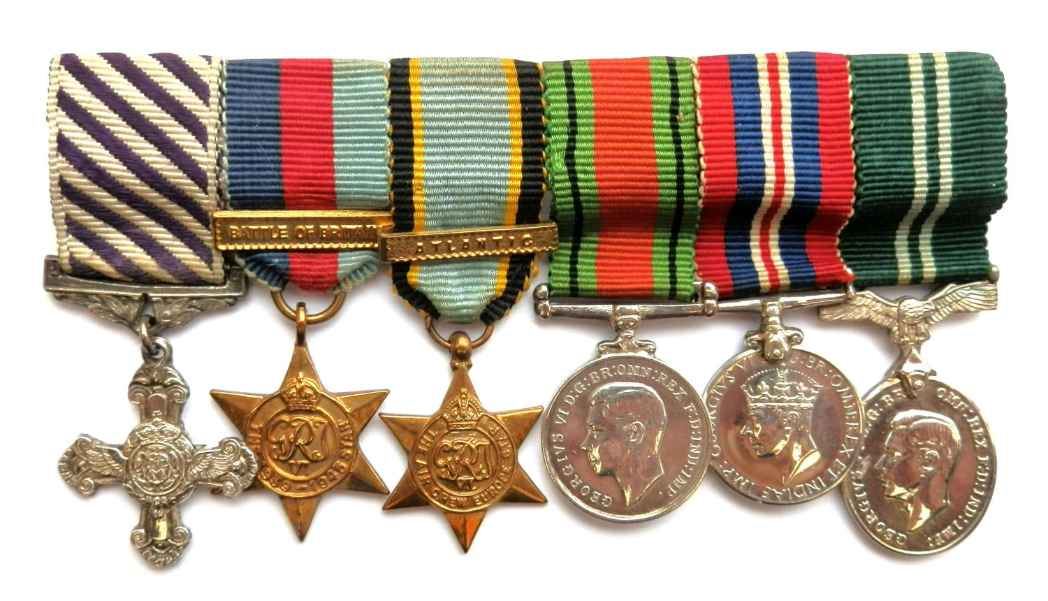 Contemporary Gallantry Group of Six Miniature Medals. Un-attributed.