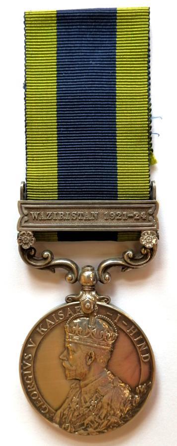 Indian General Service 1908. Pte. R. Skilling. Royal Berks Regiment.