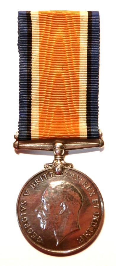 British War Medal. Private. Robert Jump. 1/6th King's Liverpool Regt