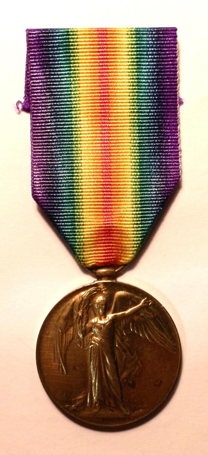 Victory Medal. 2nd A.M. Ernest Herbert Day. R.A.F
