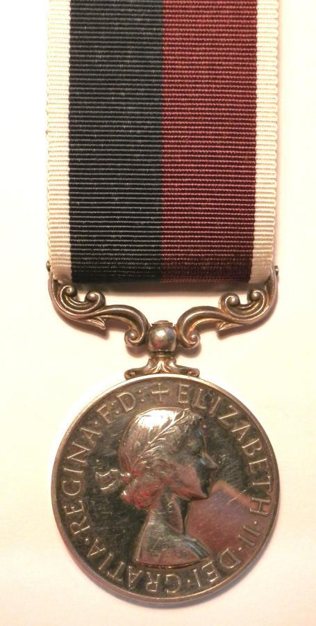 R.A.F. Long Service & Good Conduct. Sgt R.E.Currie.