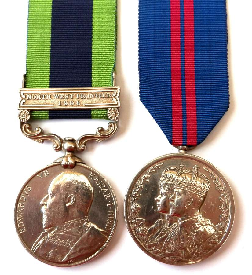 PAIR. Private Thomas Campbell. 1st Bn. Seaforth Highlanders.